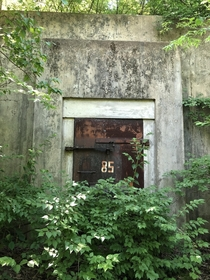 Old WWII TNTExplosives bunker in the outskirts of my city