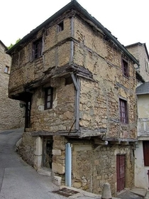 Oldest house in Aveyron France built in the th century