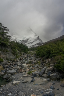 Ominous day in Torres del Paine NP