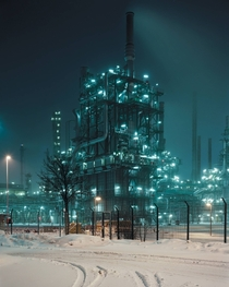 OMV Borealis Refinery on the GermanAustrian Frontier
