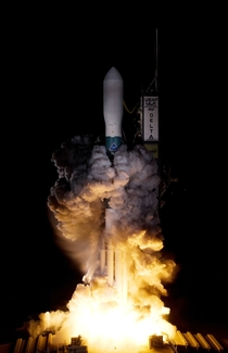 On Launch Pad -B at Cape Canaveral Air Force Station in Florida United Launch Alliances Delta II rocket carrying NASAs Kepler spacecraft - March