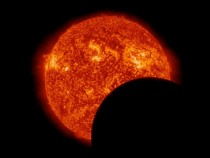 On March  NASAs Solar Dynamics Observatory was treated to two eclipses of the sun One from the Earth and one from the Moon Moon pictured Earth in comments