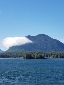 On the ferry from Bowen Island BC