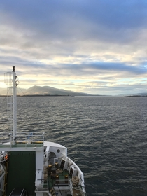 On the ferry to the Isle of Mull