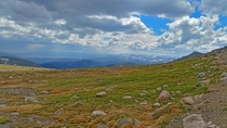 On the highest paved road in North America Mount Evans Colorado x