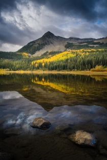 On the last days of my west coast road trip I Googled best aspen foliage and Crested Butte was the top result Wasnt disappointed Kebler Pass Colorado