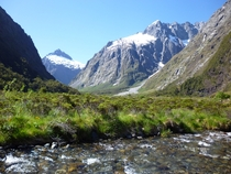 On the Milford Road New Zealand A nostalgic trip back - I used to live in nearby Knobs Flat