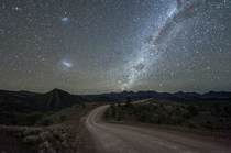 On the road to the Milky Way - Flinders Ranges National Park South Australia