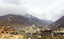 On the th day of our Everest Base Camp and Kala Patthar Trek arrive at Dingboche