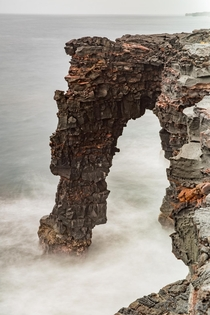On the topic of sea arches how about some love for Holei Comprised of  volcanic rock this guy could be the next to go The Big Island Hawaii