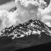 On the way into Yellowstone Gardiner MT May  A nod to the great Ansel Adams  Instagram jamieboothphoto