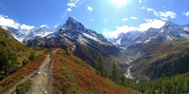 On the way to Mt Besso Zinal Switzerland th October   x
