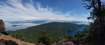 On top of Mt Constitution Orcas Island WA