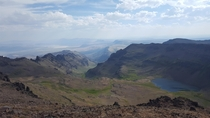 On top of Steens Mountain in southeastern Oregon