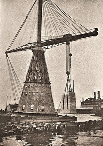 One Hundred Ton Derrick City of New York -