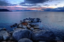 One more photo from last Sats sunset on the east shore of Lake Tahoe