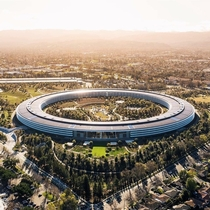 One more posts of apple headquarters in Cupertino x