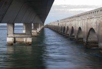 One of many bridges on the Overseas Highway Florida Keys
