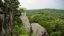 One of many views from Garden of the Gods IL