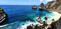 One of my favorite beaches on my trip to Indonesia Atuh Beach Nusa Penida Indonesia