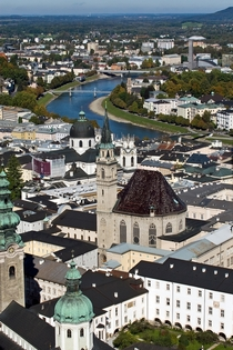 One of my favorite old cities - Salzburg Austria
