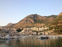 One of my favorite shots from my vacation to Sicily leaving the port of Castellammare Del Golfo with the sun just coming up