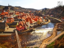 One of my favorite small towns in Europe Cesky Krumlov Czech Republic