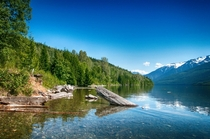 One of my favourite camp spots Lake Revelstoke British Columbia Canada