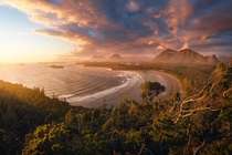 One of my favourite shots of my favourite beaches Cox Bay Tofino Vancouver Island  JayKlassy