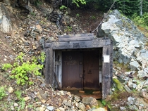 One of Oregons most successful gold mines currently abandoned The Champion Mine