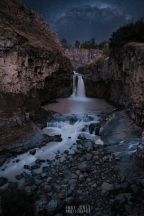 One of Oregons secret hideaways Celestial Falls  x