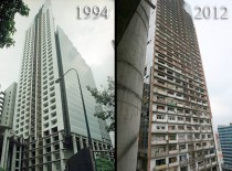One of tallest buildings in South America abandoned and full of squatters in Caracas