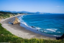 One of the amazing beaches of southern Oregon - Cape Blanco Oregon