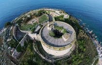 One of the  Austria-Hungary fortifications in Montenegro - Island Fort Mamula  by