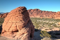 One of the beehives in Valley of Fire State Park NV