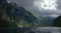 One of the best boat trips of my life Geiranger Fjord Norway