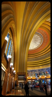 One of the best examples of Art Deco architecture Cincinnatis Union Terminal