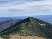 One of the best hikes with amazing views Franconia Ridge New Hampshire