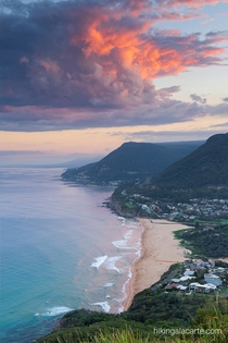 One of the best lookouts near Sydney Stanwell Tops Australia
