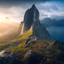 One of the best sunrises I witnessed in the island of Senja Norway  marcograssiphotography