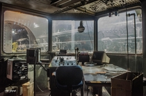 One of the Control Rooms at an Abandoned Steel Mill