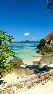 One of the countless amazing beaches of the Seychelles La Digue Seychelles