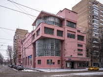 One of the finest examples of Soviet constructivist architecture - the Zuev Workers Club Moscow designed by Ilya Golosov in