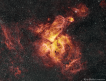 One of the jewels of the Southern Hemisphere The Carina Nebula