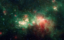 One Of The Largest Star Forming Regions In The Milky Way Galaxy With Infrared Luminosity  Million Times Our Sun