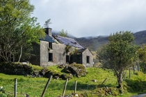 One of the many abandoned houses we came across in Ireland This was taken somewhere south west of Killarney