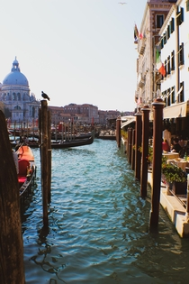 One of the most beautiful cities Ive ever been to Venice Italy