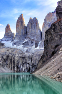 One of the most beautiful landscapes in the world Torres Del Paine - Chile