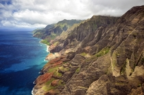 One of the most beautiful places on earth the scenery of the Na Pali Coast in Kauai is breathtaking   Karen Lejeal
