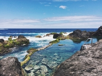 One of the most beautiful pools in the world Piscinas Naturales De Garachico in Tenerife Spain